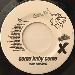 K7:COME BABY COME(LABEL SIDE-A)