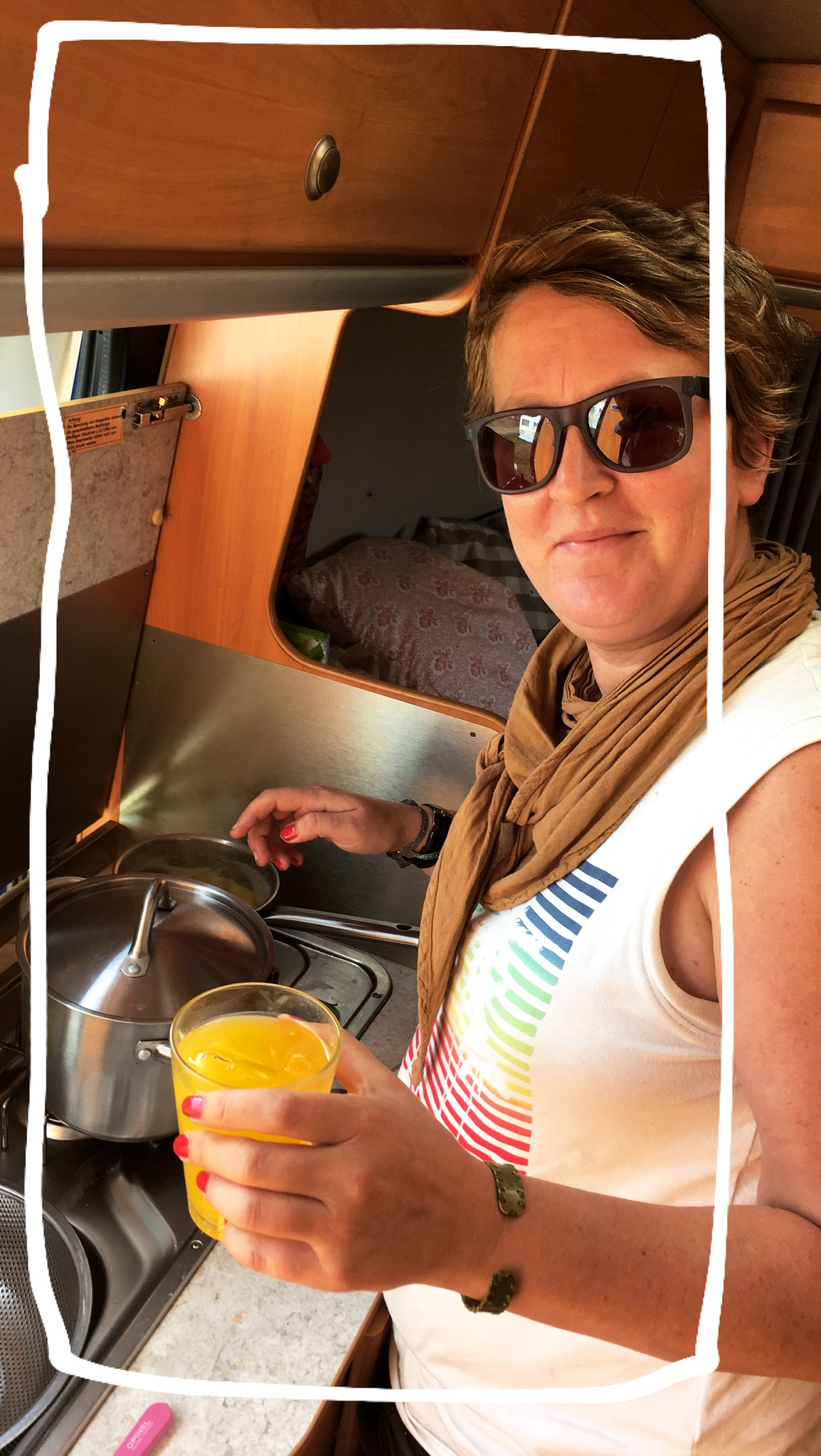 Kochen im Camper