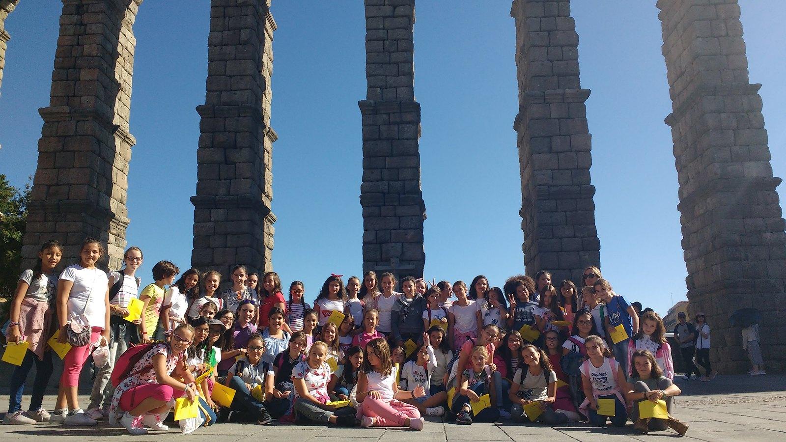Convivencia de 6º Primaria en Segovia