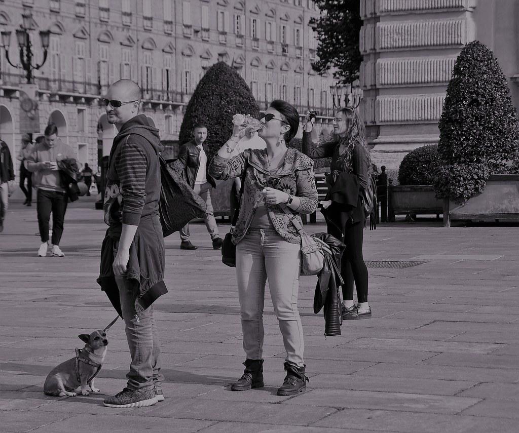 Pausa...in piazza Castello