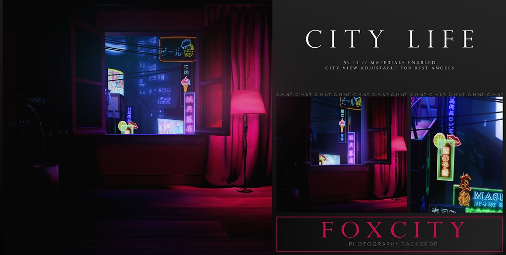 FOXCITY. Photo Booth – City Life