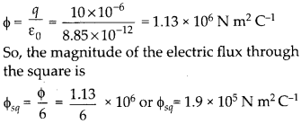 NCERT Solutions for Class 12 Physics Chapter 1 Electric Charges and Fields 16