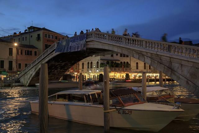 Ponte degli Scalzi, Venice, Italy.