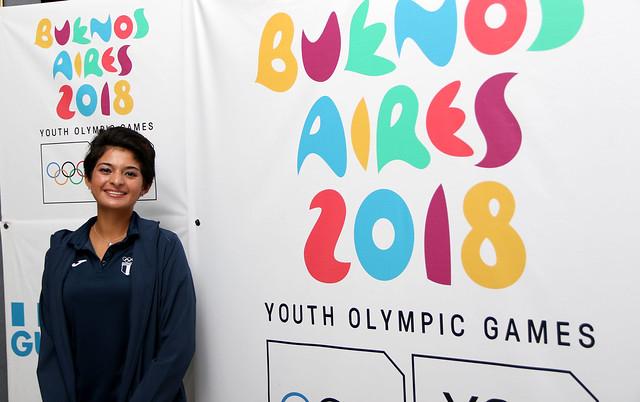 Ellos son los 9 atletas que competirán en Buenos Aires 2018