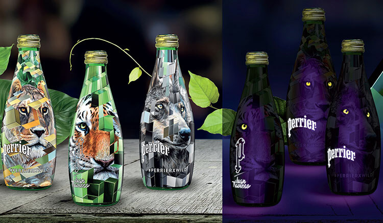 Limited Edition Perrier Wild Bottles