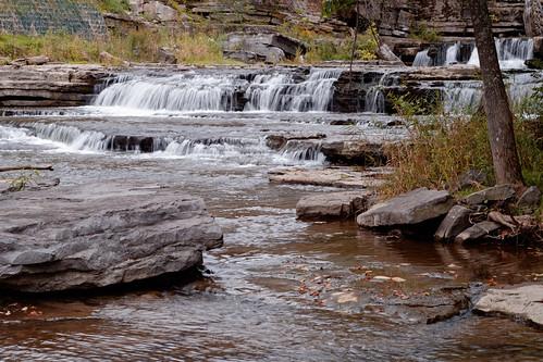 creek water foxcreek foxcreekpark waterfall falls flowingwater boulder landscape outdoor berne hilltowns helderbergs rural newyork capitaldistrict park ks2 kmount pentax pentaxart vintagelens manualfocuslens supertakumar55mmf2lens