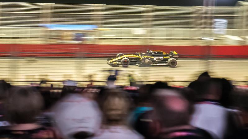 Nico Hulkenberg, Renault, Formula 1 2018 Singapore Grand Prix, Marina Bay