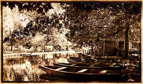 Le Bournat boating lake