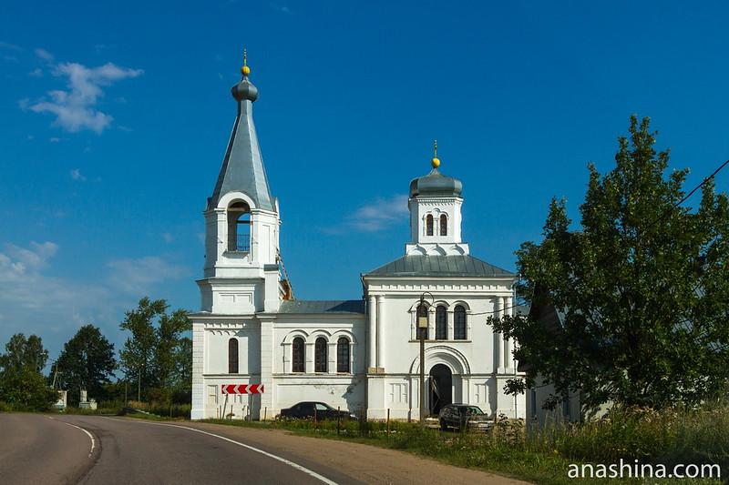 Церковь Ильи Пророка, Волхов