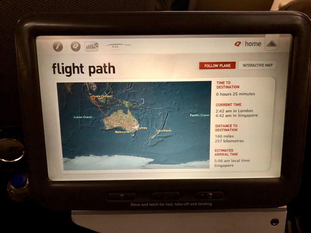 Qantas A380 Premium Economy Revisited: QF2 from Singapore to Sydney ...