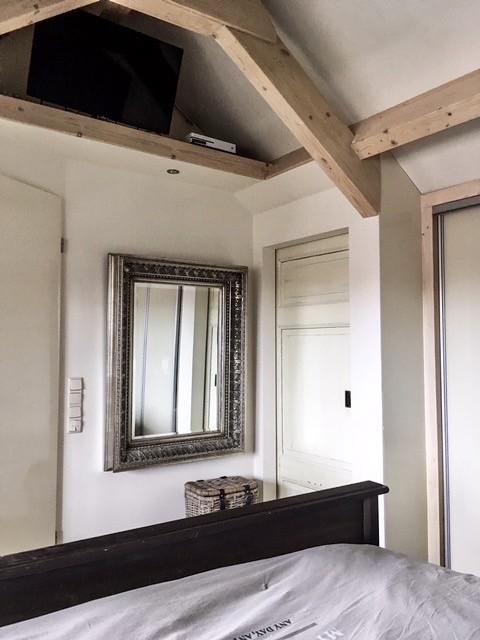 Balkenplafond slaapkamer