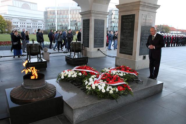 Wizyta Najwyższego Rycerza Kolumba Carla Andersona w Polsce