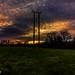 London Colney Sunset.