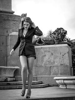 Ph. Mariano Buendia Gomez. Model Albina Belova. Madrid