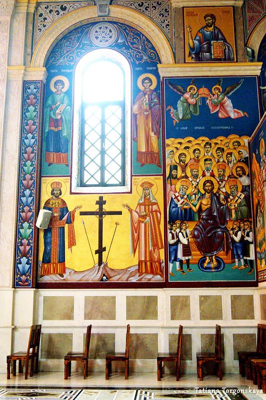 Росписи в соборе Св. Преображения