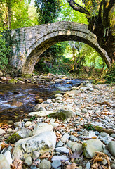 Old stone bridge.
