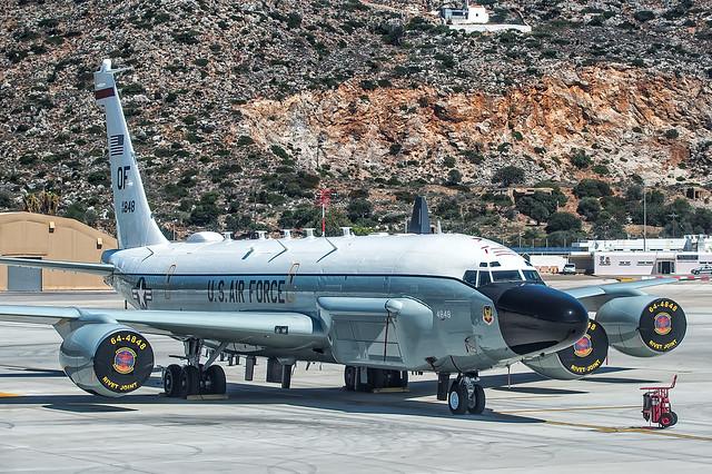 64-14848 RC-135V at Chania 22-9-2018