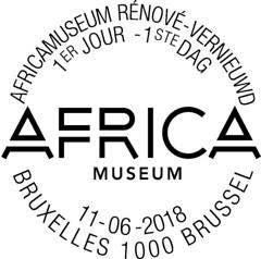 11 AFRICAMUSEUM cachet rond autre v