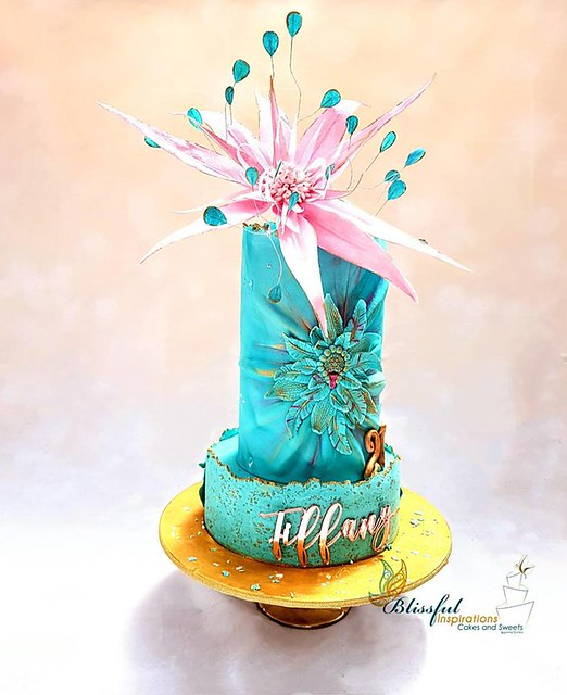 Cake by Helen H Hatzaras of Blissful Inspirations - Cakes & Sweets