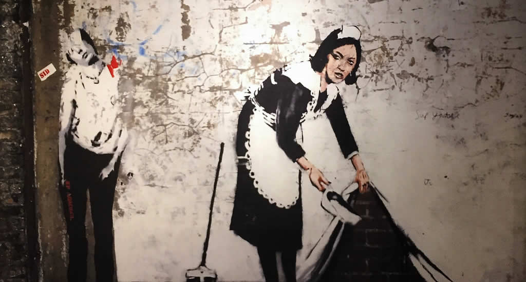 Contemporary art in Amsterdam: Banksy | Your Dutch Guide