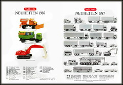 Catalogue Katalog Wiking scale models