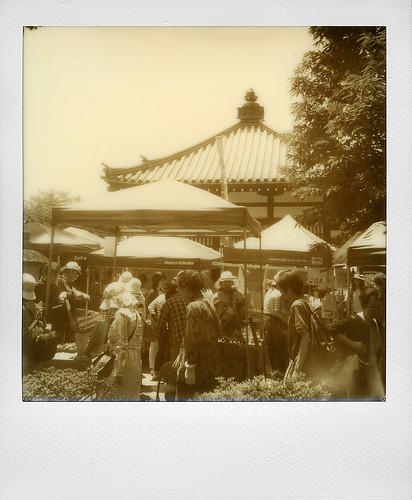 Flea market at Chion-Ji, Kyoto (Japan)