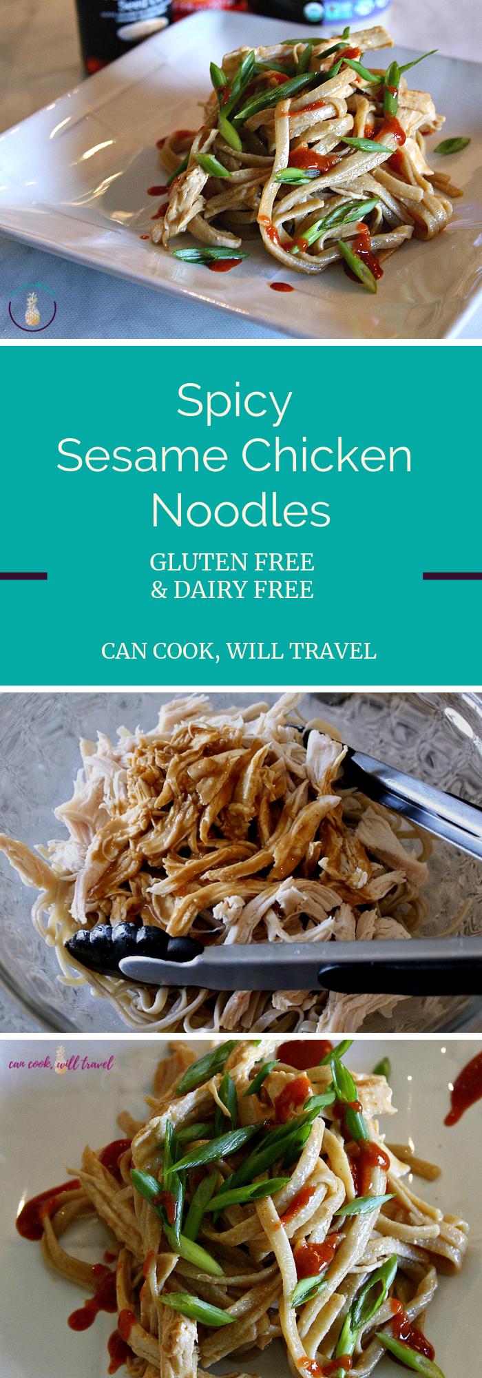 Spicy Sesame Chicken Noodles_Collage2