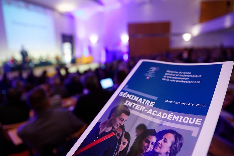 Séminaire interacadémique du Grand Est sur la réforme du lycée