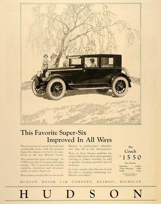 1924 Hudson Super-Six