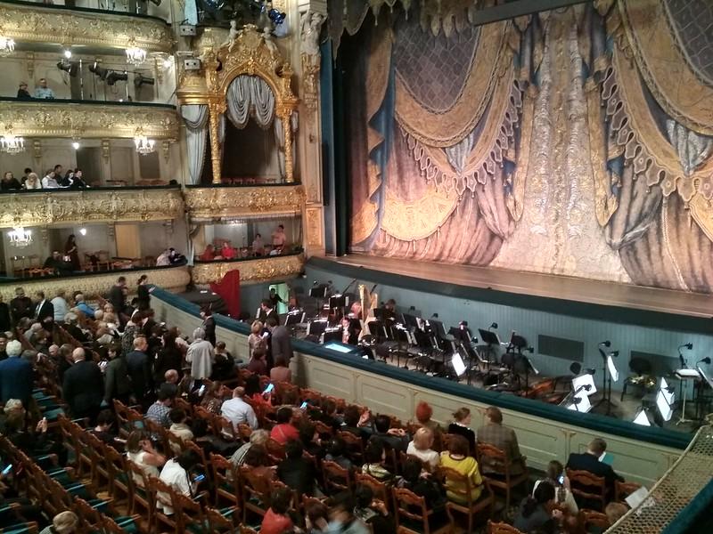 Санкт-Петербург - Мариинский театр - Вид на сцену