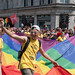 Rainbow banner paraded through Regent Street