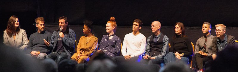 Star Trek Discovery cast at Destination Star Trek