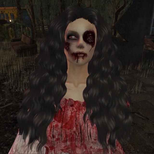 ASU - Zombie face