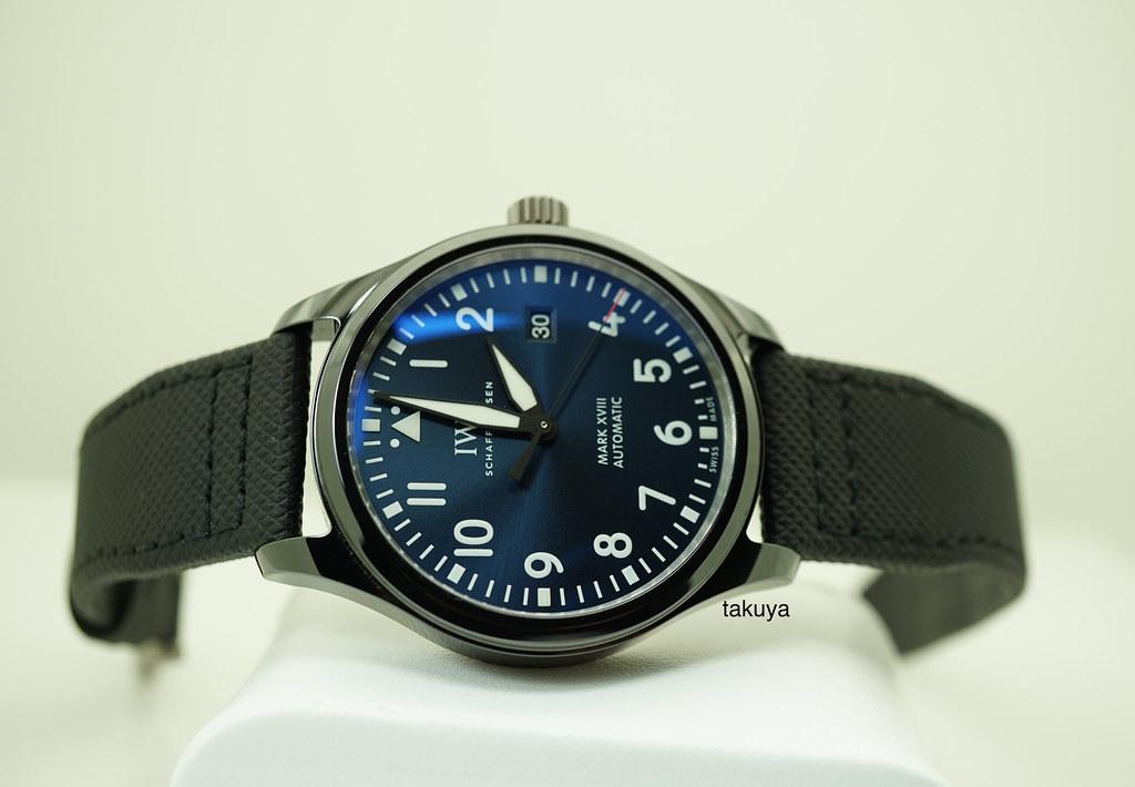 new product a9a66 5f63f FSOT:Iwc PILOT MARK XVIII LIMITED EDITION LAUREUS SPORT ...