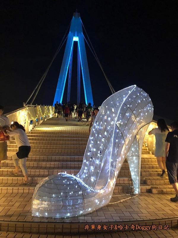 淡水夜景15漁人碼頭