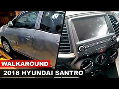 Walkaround | 2018 Hyundai Santro Interior & Exterior Revealed