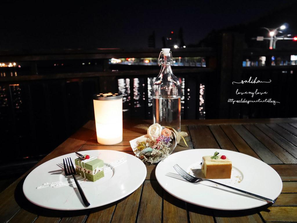 La Villa Danshui淡水景觀夜景浪漫餐廳推薦甜點點心下午茶 (1)
