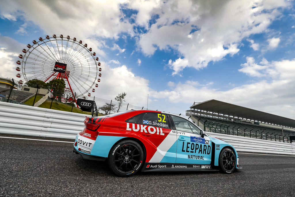 52 SHEDDEN Gordon, (gbr), Audi RS3 LMS TCR team Audi Sport Leopard Lukoil, action during the 2018 FIA WTCR World Touring Car cup of Japan, at Suzuka from october 26 to 28 - Photo Clement Marin / DPPI