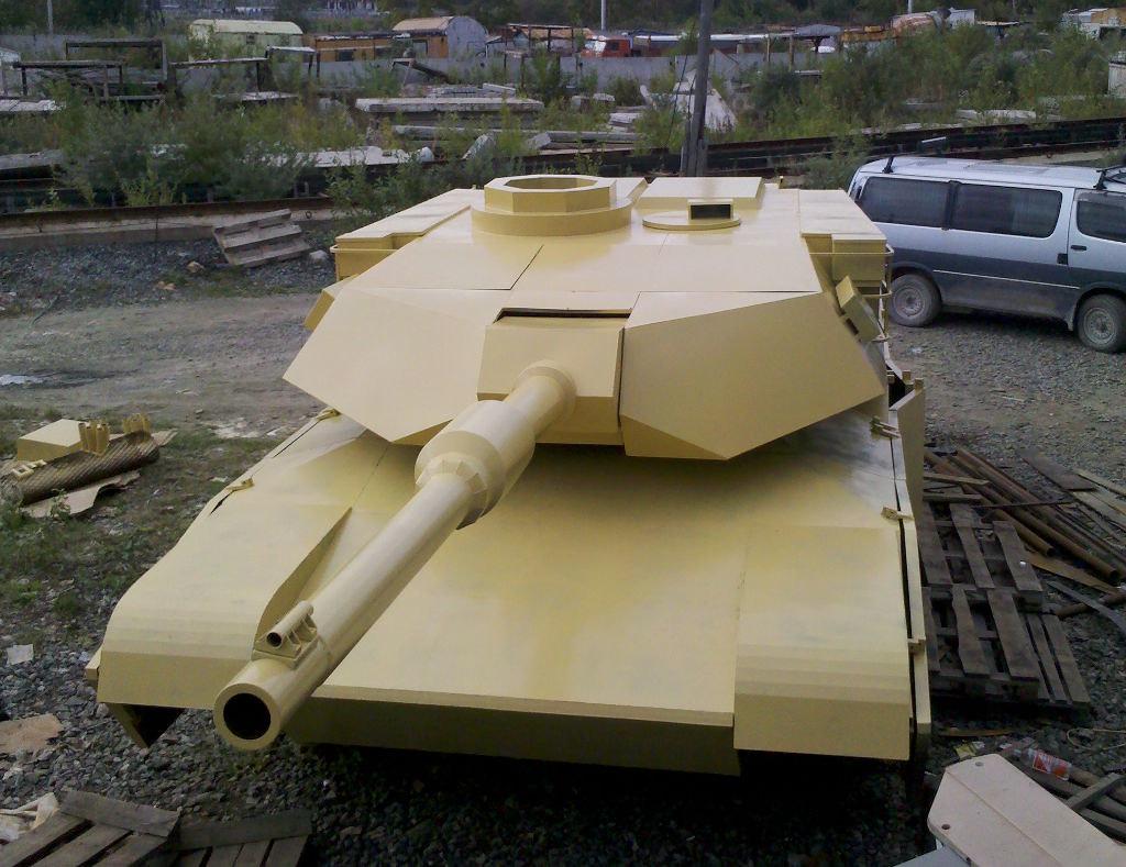Как сделать танк из вездехода