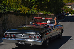 Mercury Comet convertible - Photo of Saint-Simon