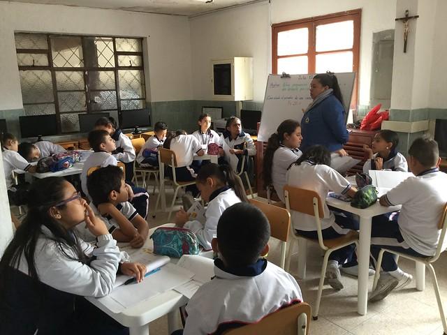 Proyecto STEM con Fundación Chevrolet en Colegio Fátima