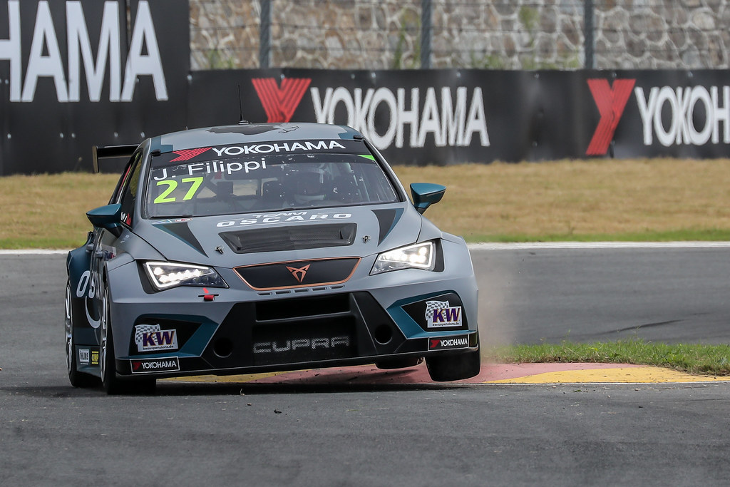 27 FILIPPI John, (fra), Seat Cupra TCR team Oscaro by Campos Racing, action during the 2018 FIA WTCR World Touring Car cup of China, at Ningbo  from September 28 to 30 - Photo Marc de Mattia / DPPI