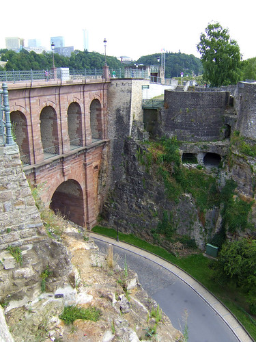 old viaduct Luxembourg Grund