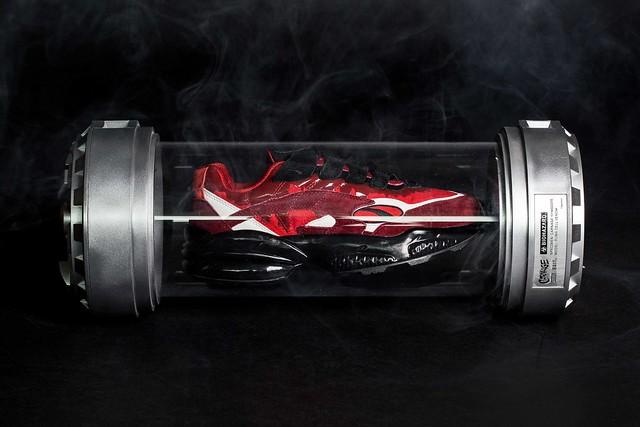 光是鞋子的包裝盒就帥爆啦~ BAIT × MARVEL × PUMA【猛毒、屠殺主題鞋款】Puma Venom Cell、Puma Venom Cell Carnage