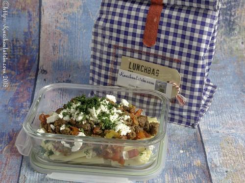 Pasta mit Ziege und Gemüse (2)