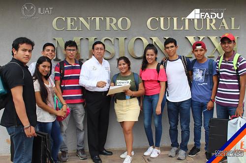 Se realiza reunión de tutorías con alumnos de nuevo ingreso, en la FADU
