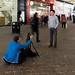FX306551-1 Reinaldo Miranda aka Windswept Man, Manchester, uk