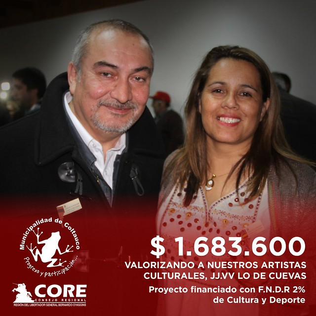 Autoridades comunales y regionales felicitaron a las agrupaciones ganadores de los proyectos del 2% de Cultura y Deporte en Coltauco