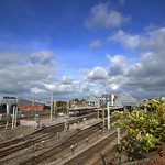 View over Preston Train Station