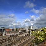 View over Preston Train Station